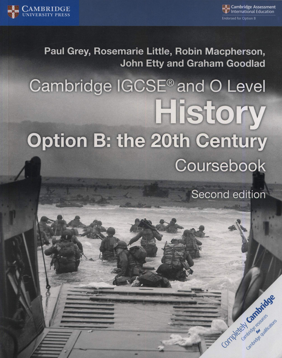 CAMBRIDGE IGCSE HISTORY COURSEBOOK