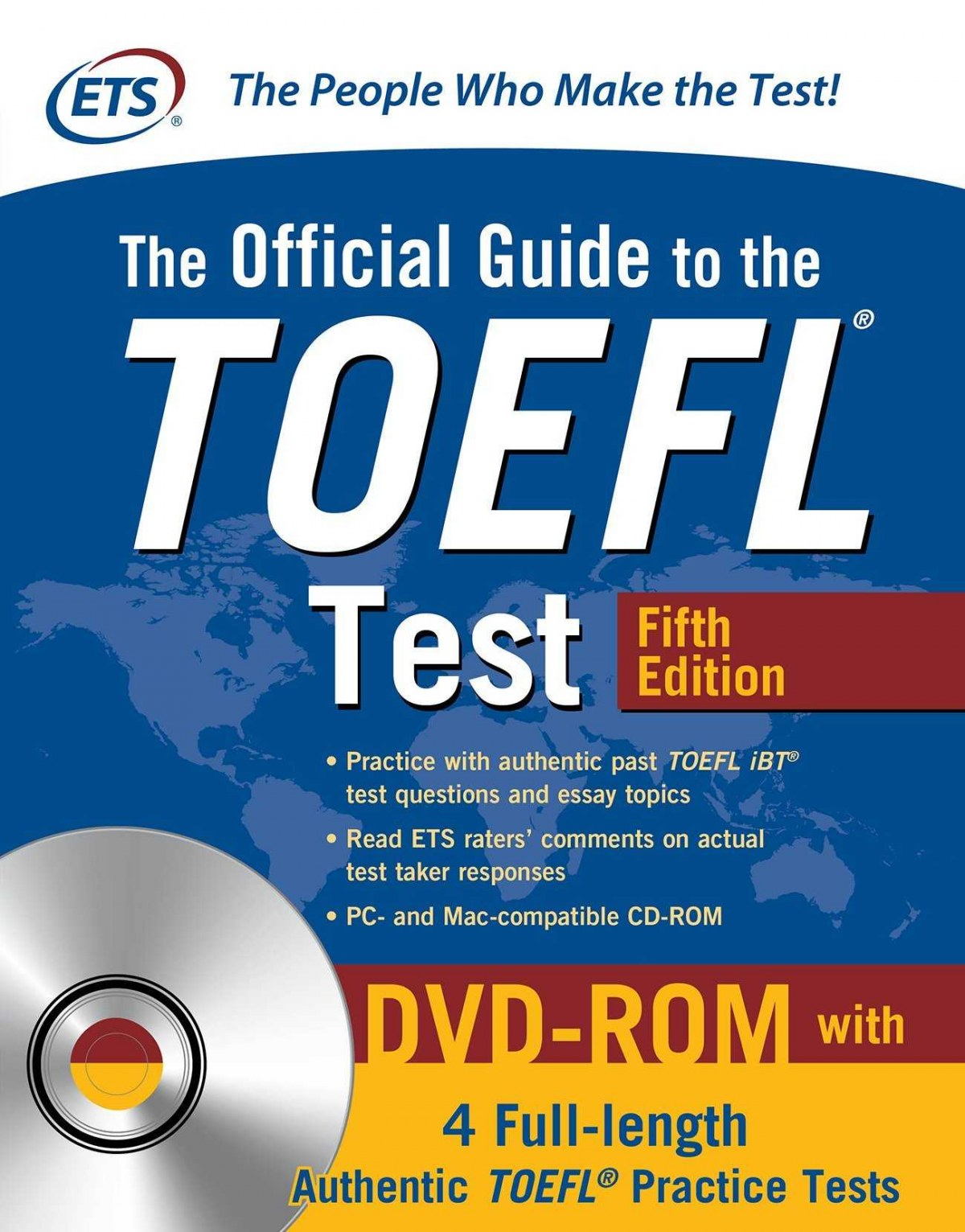 OFFICIAL GUIDE TO THE TOELF WITH DVD