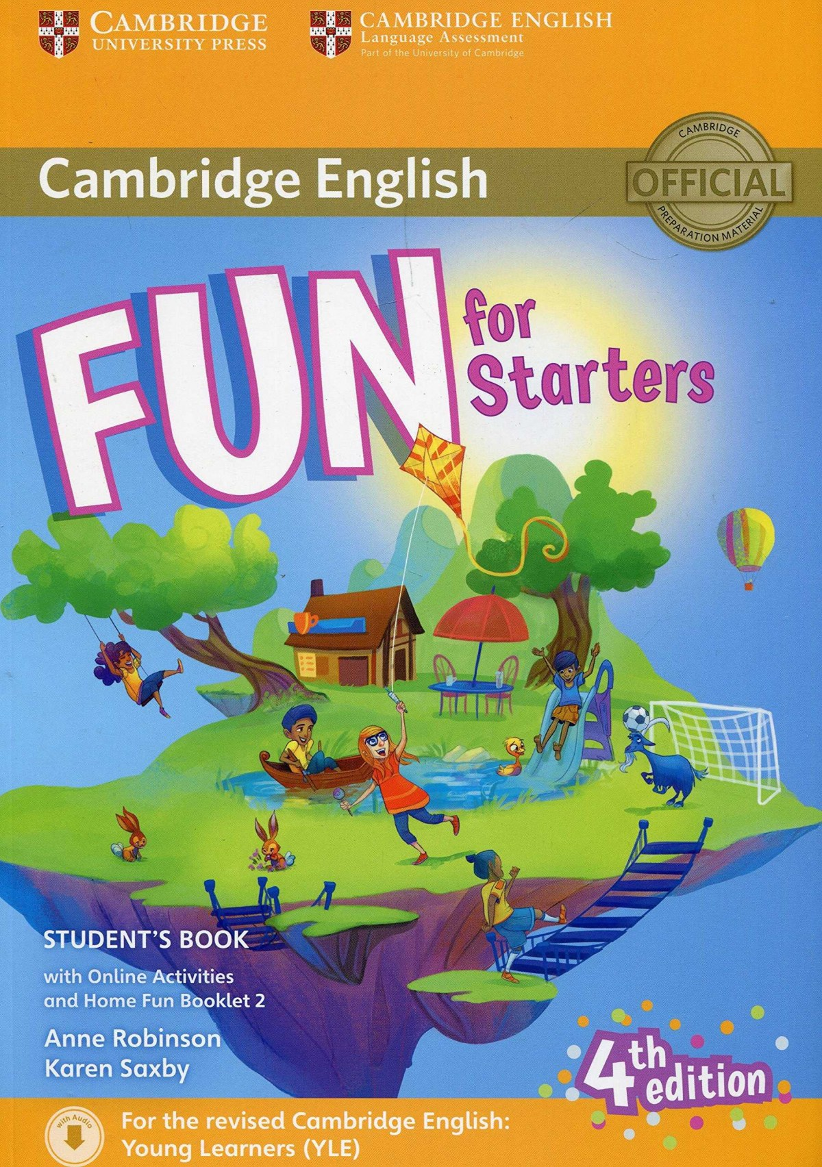(16).FUN FOR STARTERS (SB+HOME FUN BOOKLET+ONLINE ACTIV.)
