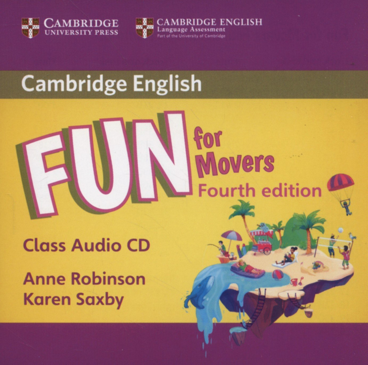 (CLASS CD).FUN FOR MOVERS (4ªED)