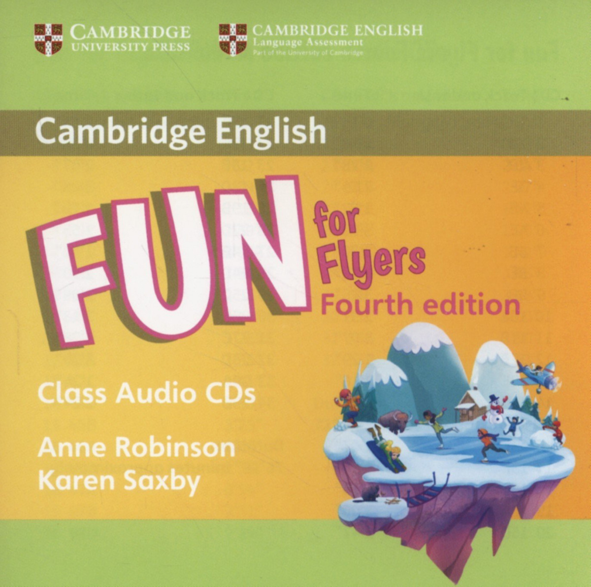 (CLASS CD).FUN FOR FLYERS (4ªED)