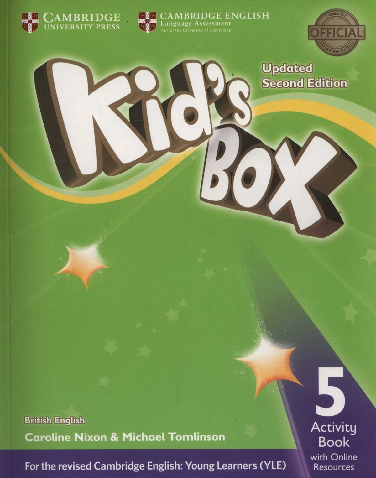 (17).KID´S BOX LEVEL 5 ACTIVITY BOOK .(ED.INTERNACIONAL)