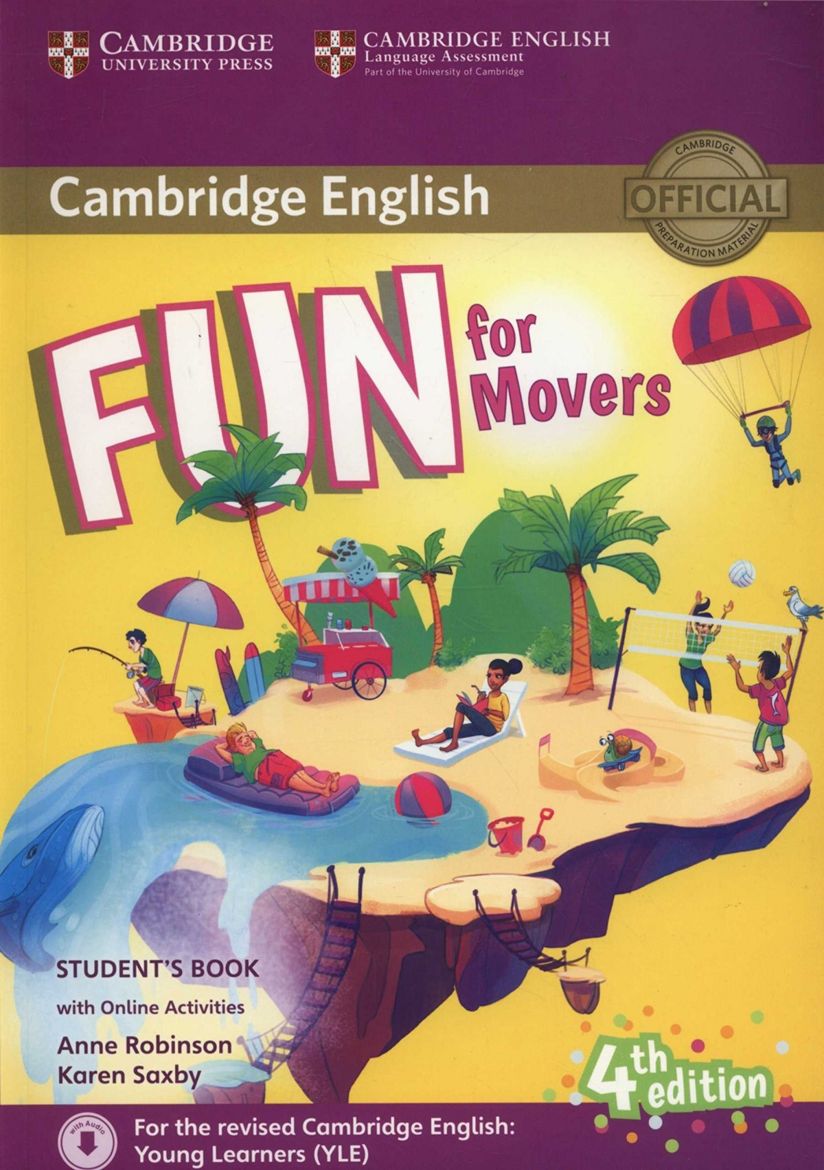 (16).FUN FOR MOVERS (ST+DOWNLOAD AUDIO+ONLINE ACTIV.) 4ªED