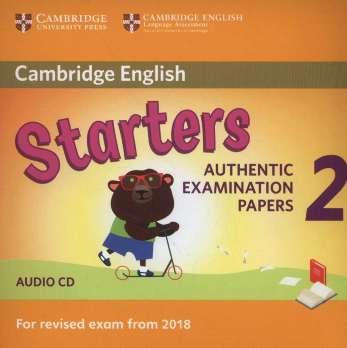 (CD).(18).CAMBRIDGE STARTERS 2.(CD AUDIO) REVISED