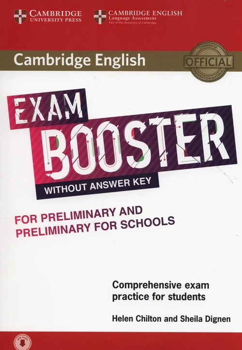 (17).EXAM BOOSTER (-ANSWER+CD) FOR PRELIMINARY PET SCHOOLS