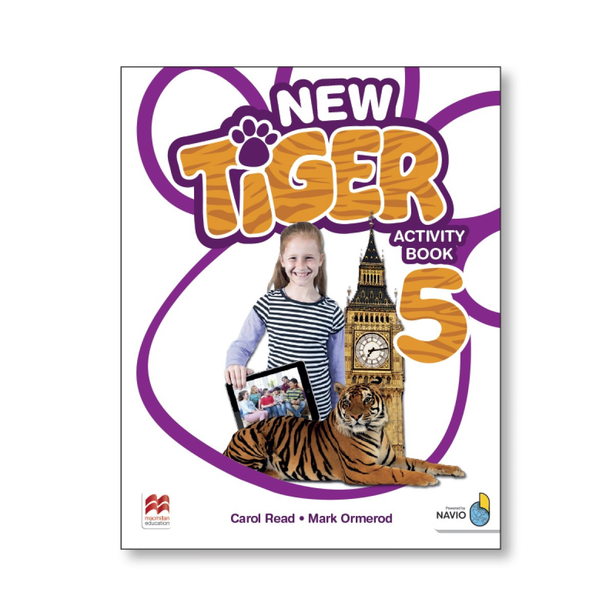 NEW TIGER 5 ACTIVITY BOOK PACK