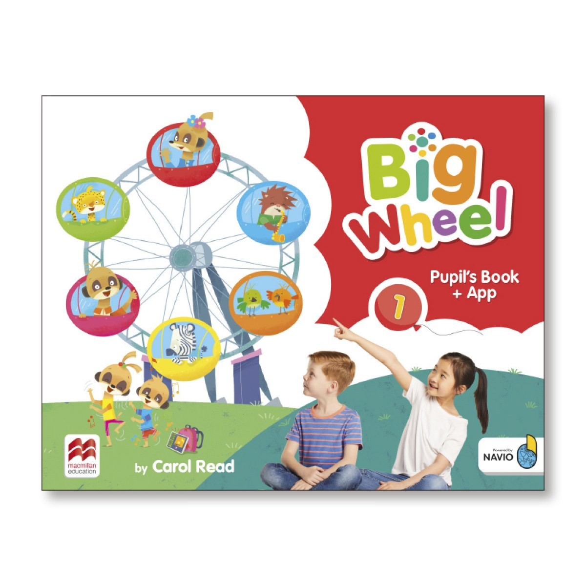 BIG WHEEL 1 PUPIL'S BOOK PACK STANDARD