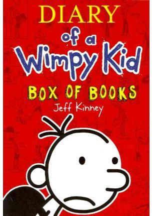 (kinney).diary of wimpy kid.(box of books)