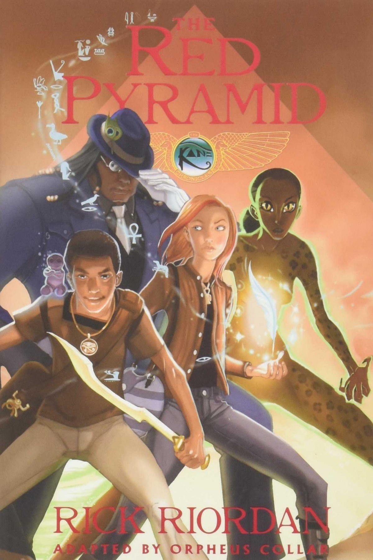 kane cronicles: red pyramid. Book one