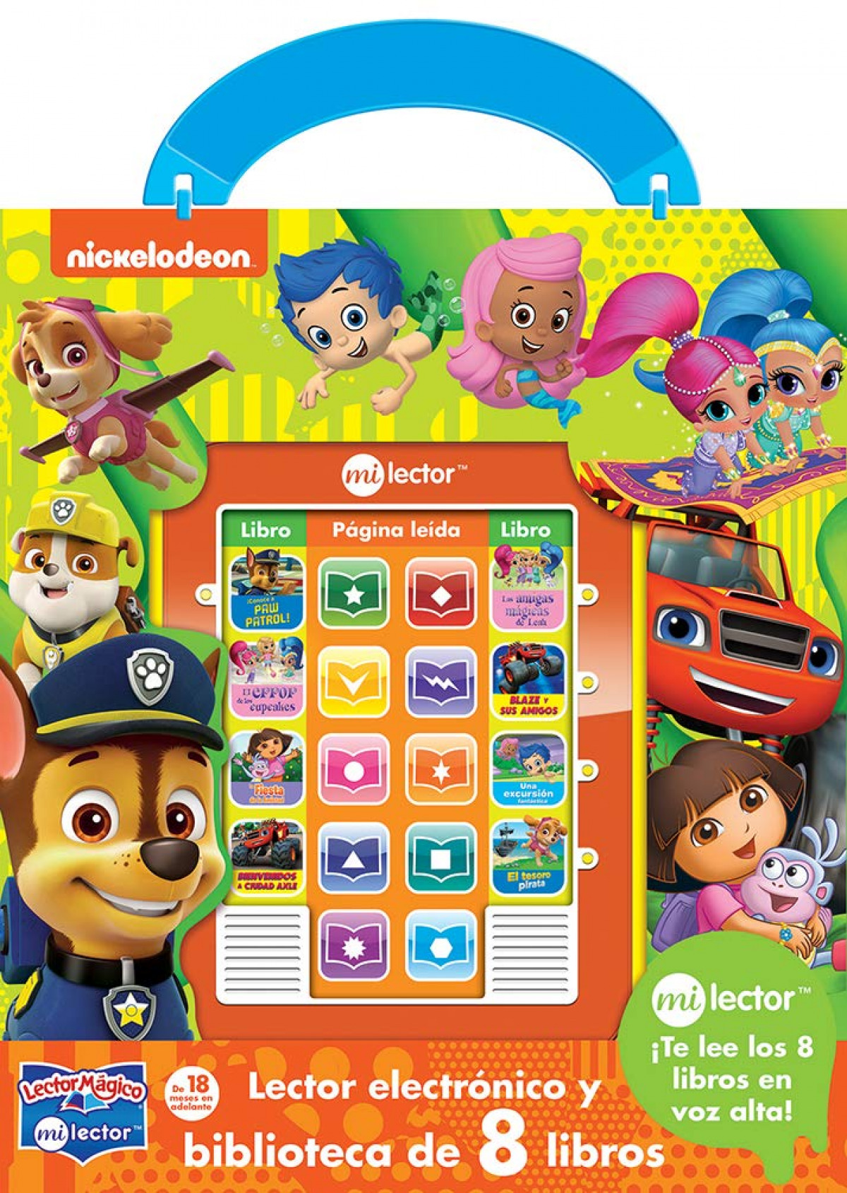 LECTOR MAGICO NICK JR.