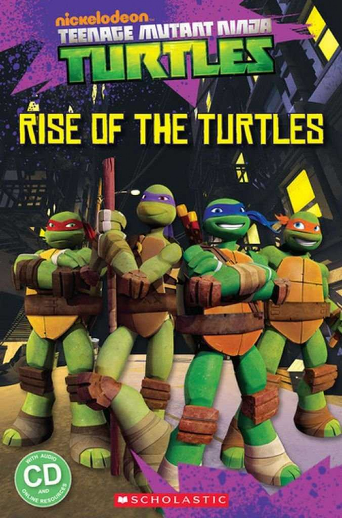 RISE OF THE TURTLES.(+CD) LEVEL 1 (POPCORN ELT READERS)