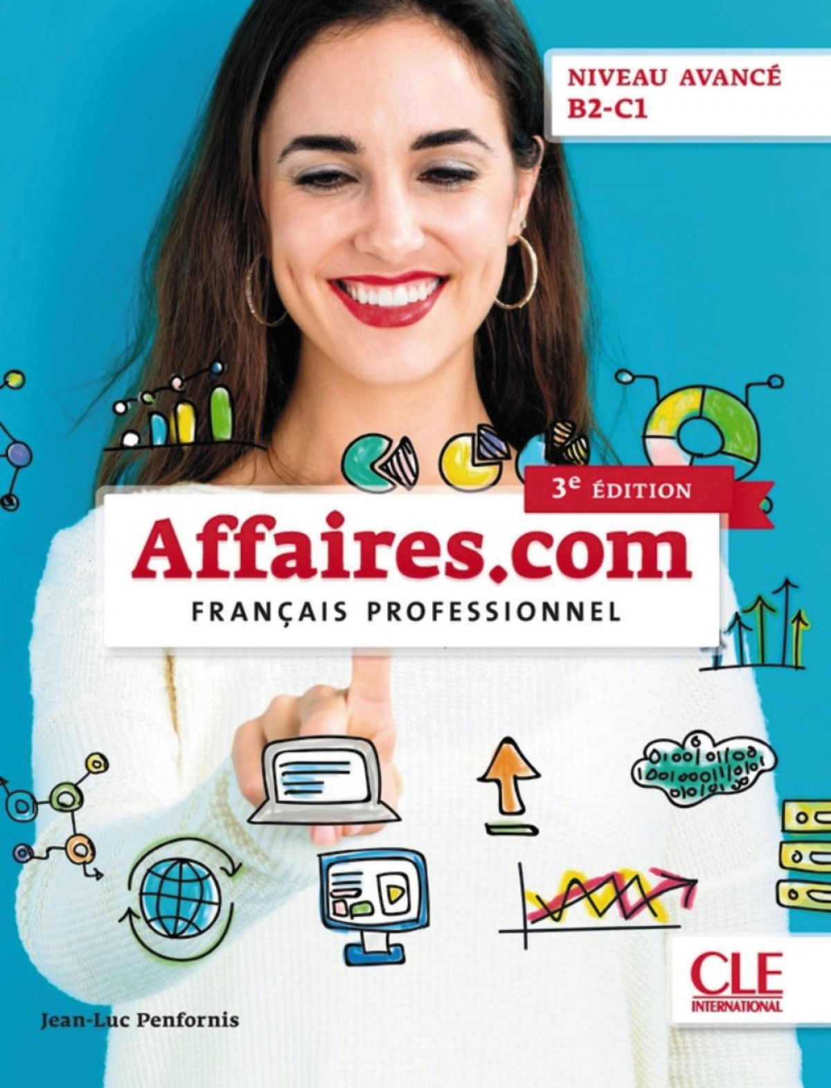 AFFAIRES.COM.(AVANCE).B2-C1.(LIVRE+CD)