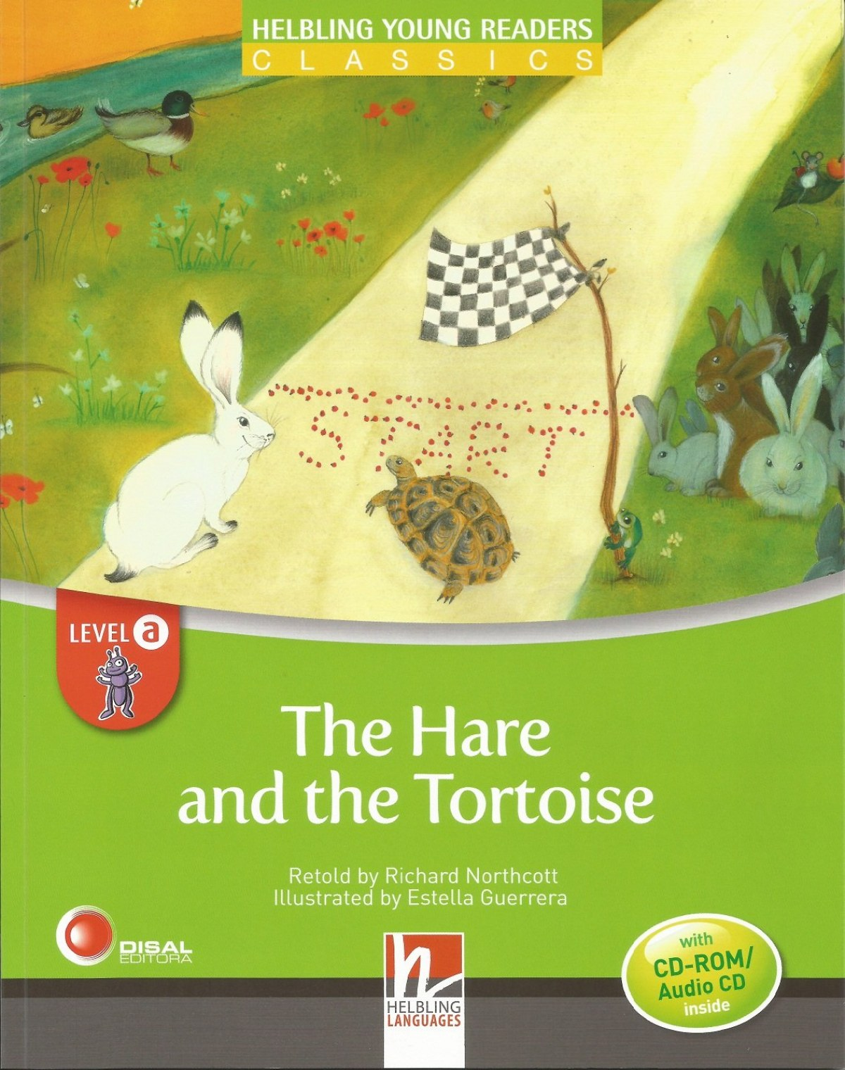 THE HARE & THE TORTOISE LEVEL A +CD