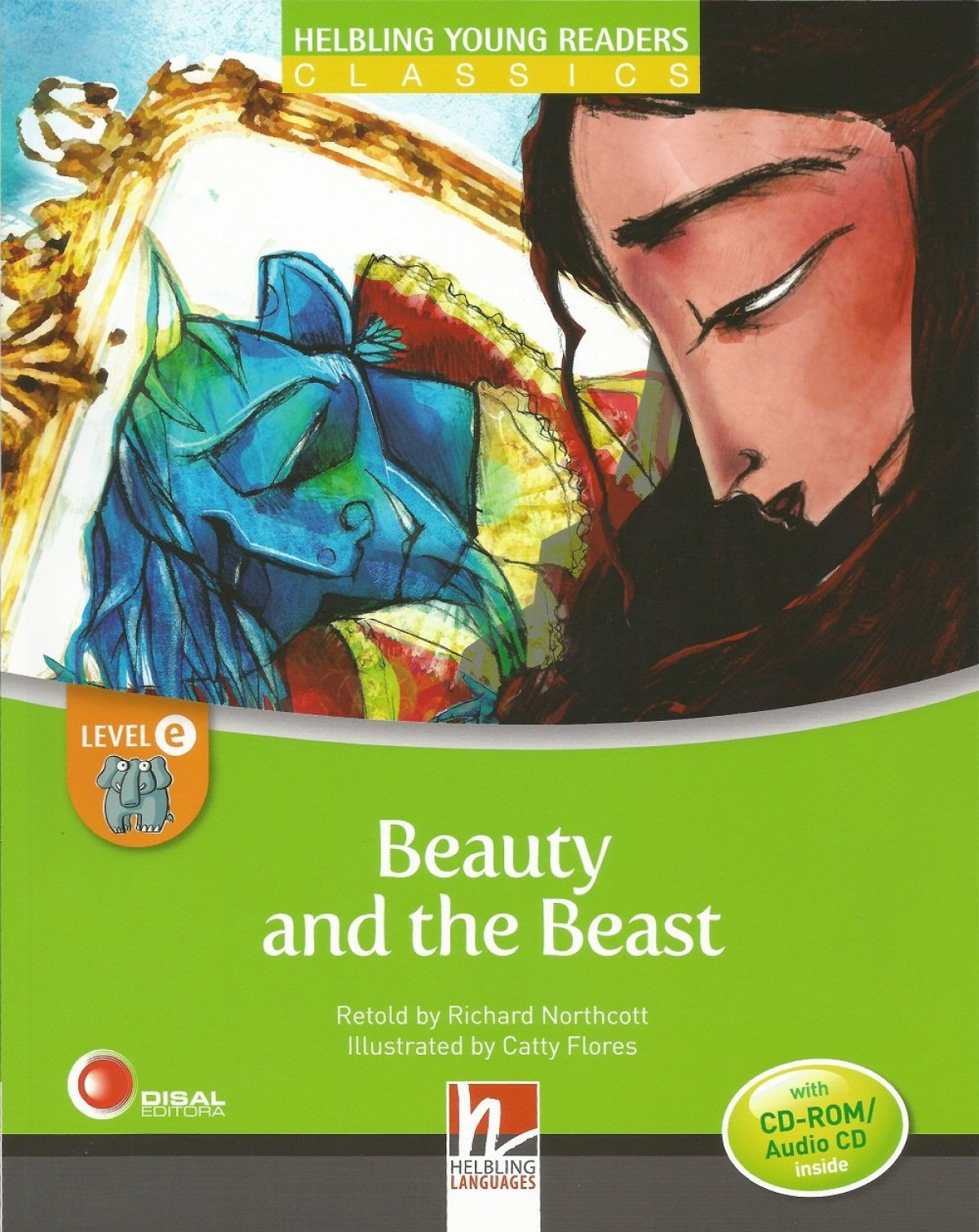 BEAUTY & THE BEAST LEVEL E +CD