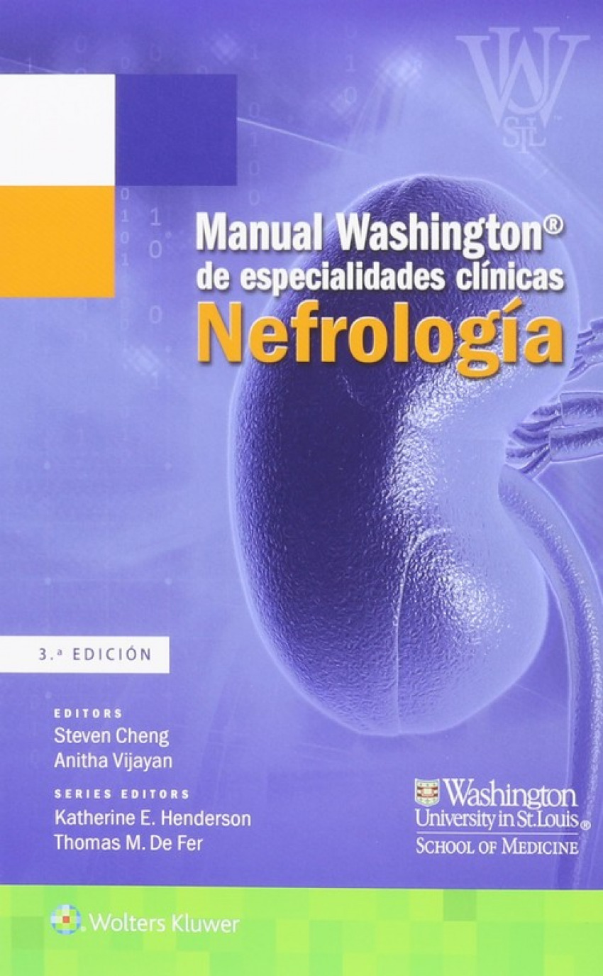 Manual Washington de especialidades clínicas. Nefrología.