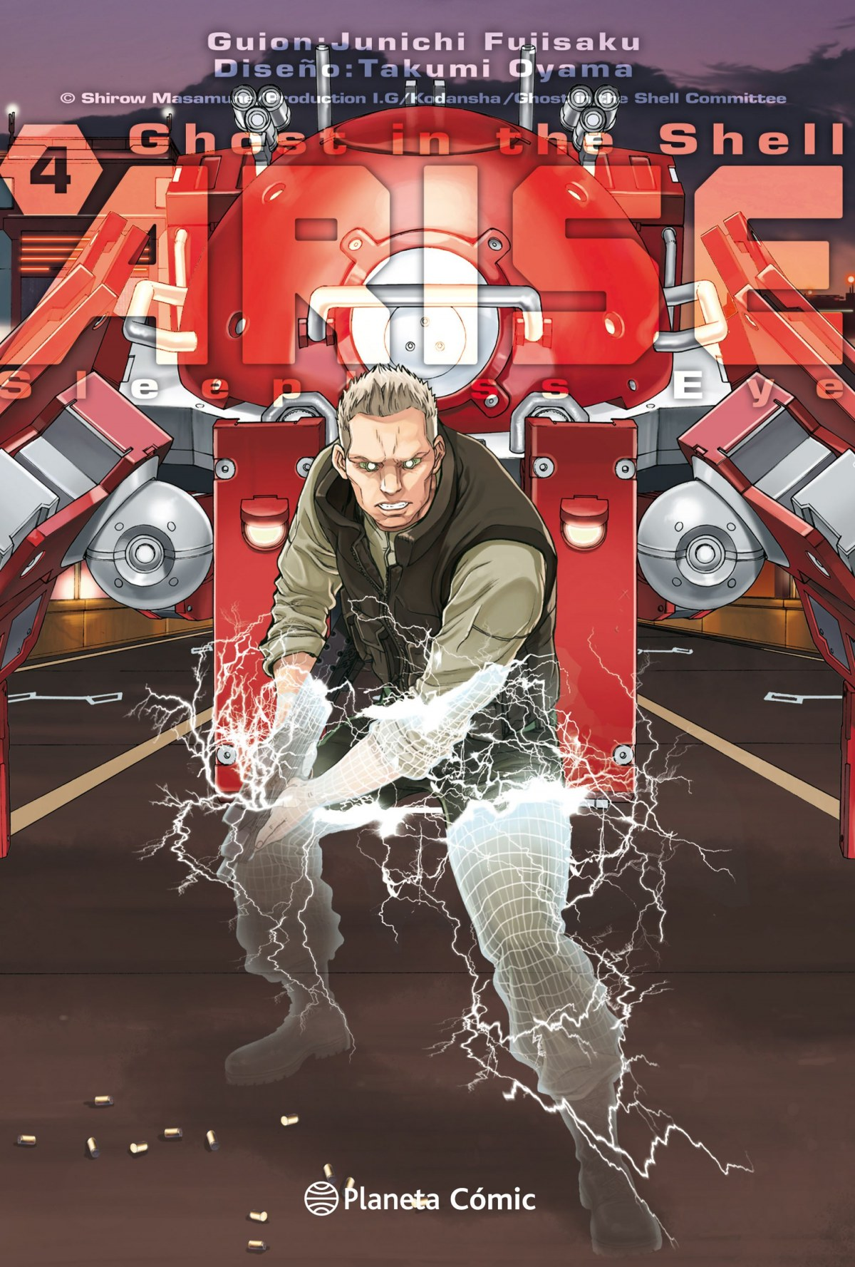 GHOST IN THE SHELL ARISE 4