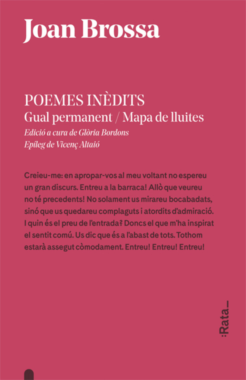 POEMES INÈDITS