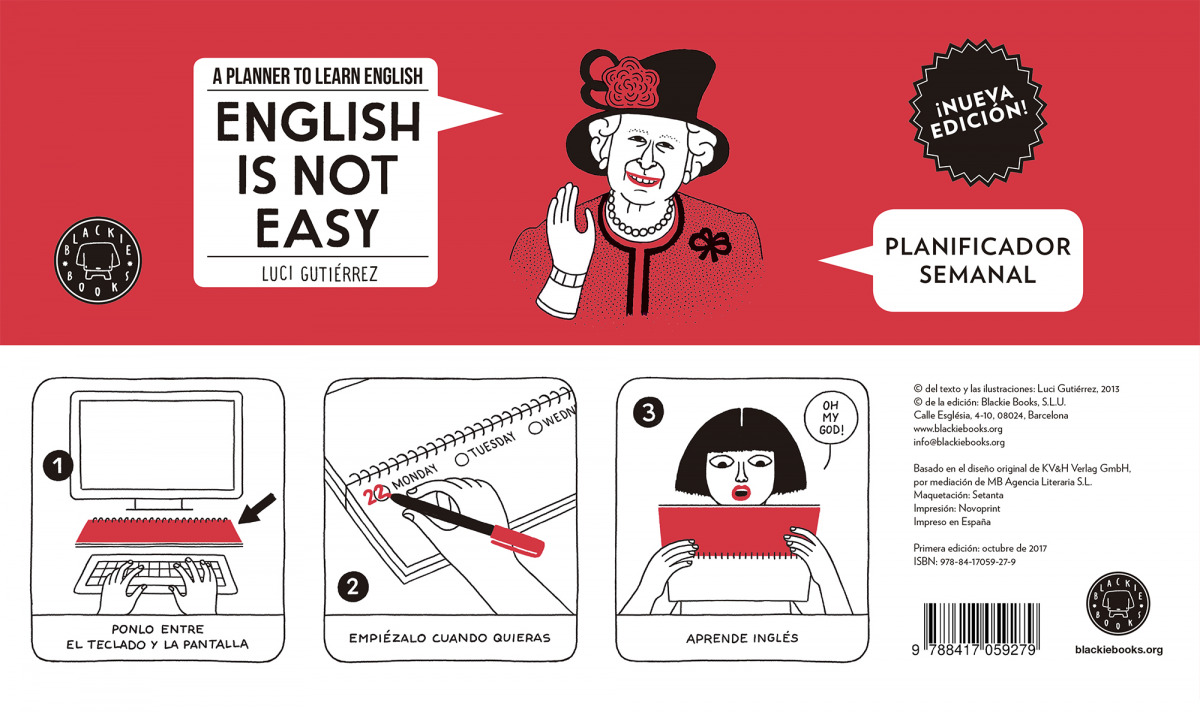 ENGLISH IS NOT EASY:PLANIFICADOR SEMANAL