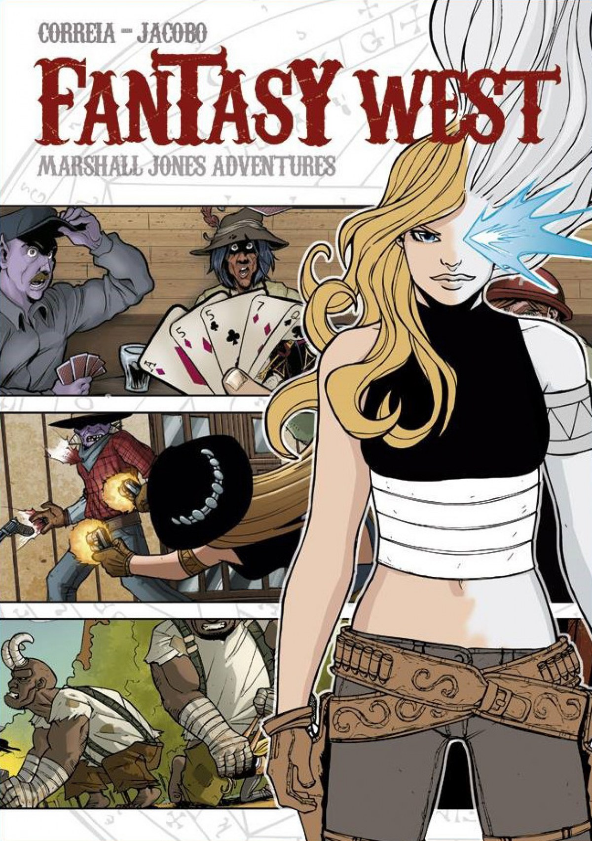 FANTASY WEST. MARSHALL JONES ADVENTURES