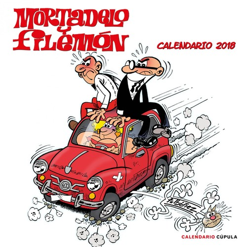 CALENDARIO MORTADELO Y FILEMON 2018