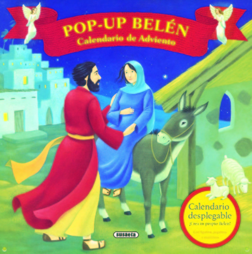 Belen Calendario.Calendario De Adviento Pop Up Belen Librerias Espacio Lector Nobel