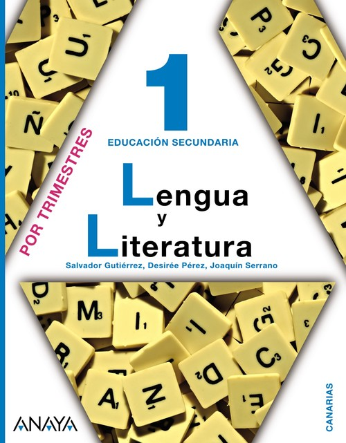 ANT/(CAN).(11).LENGUA LIT.1ºESO.(TRIMESTAL) *CANARIAS*