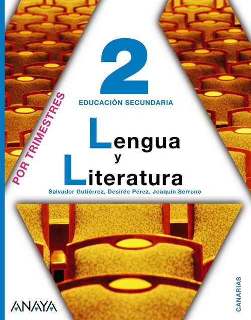 ANT/(CAN).(11).LENGUA LIT.2ºESO.(TRIMESTRAL) *CANARIAS*