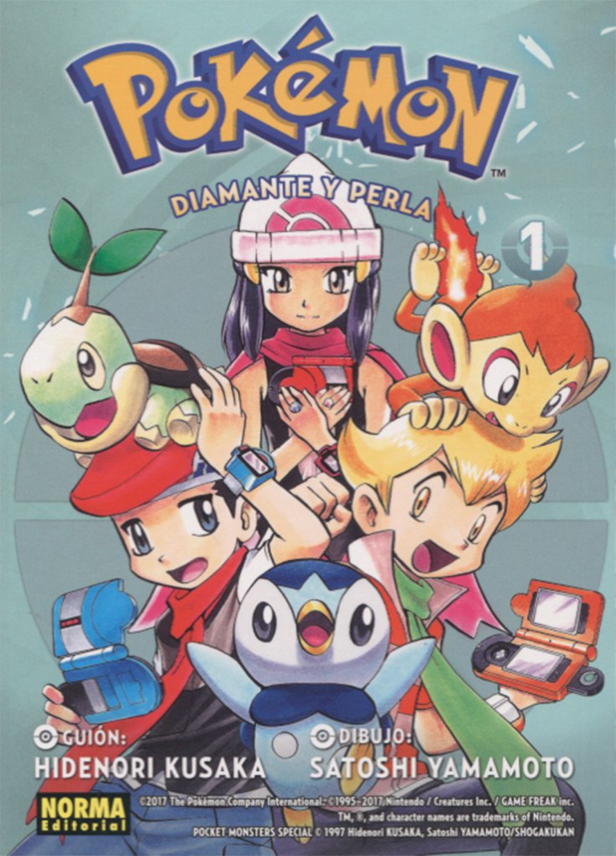 POKEMON 17 DIAMANTE Y PERLA 1