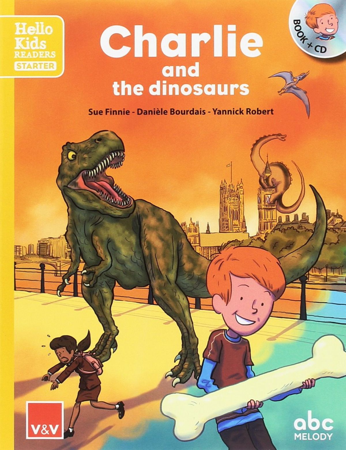 CHARLIE AND THE DINOSAURS HELLO KIDS READERS