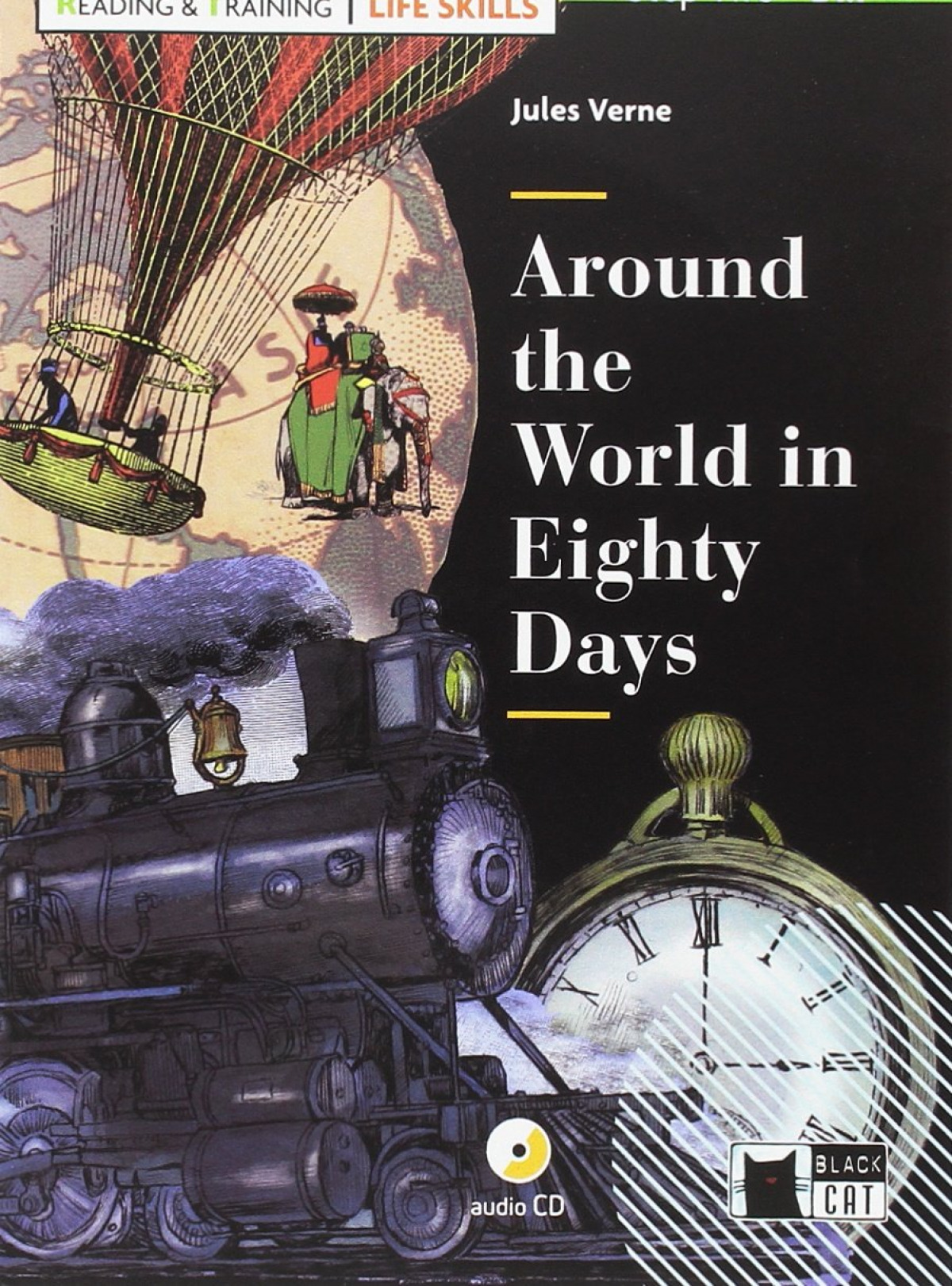 AROUND THE WORLD IN EIGHTY DAYS CON CD SERIE LIKE SKILLS READING AND TRAINING