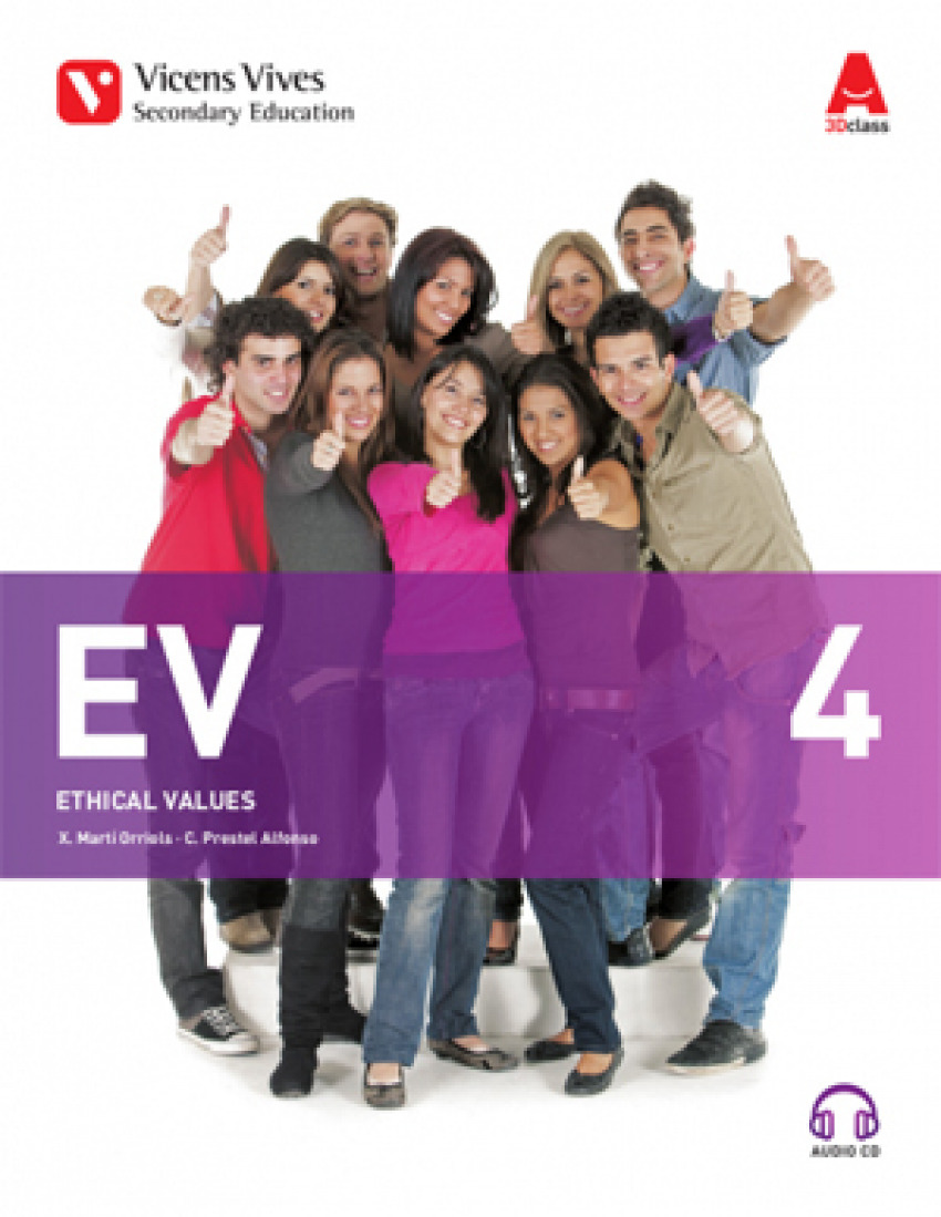 (17).ETHICAL VALUES 4º.ESO (+CD) *ETICA INGLES*