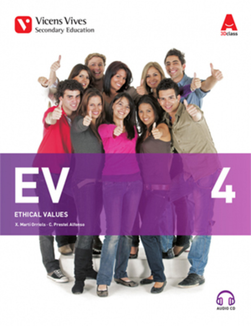 (AND).(17).ETHICAL VALUES 4º.ESO (+CD) *ETICA INGLES*