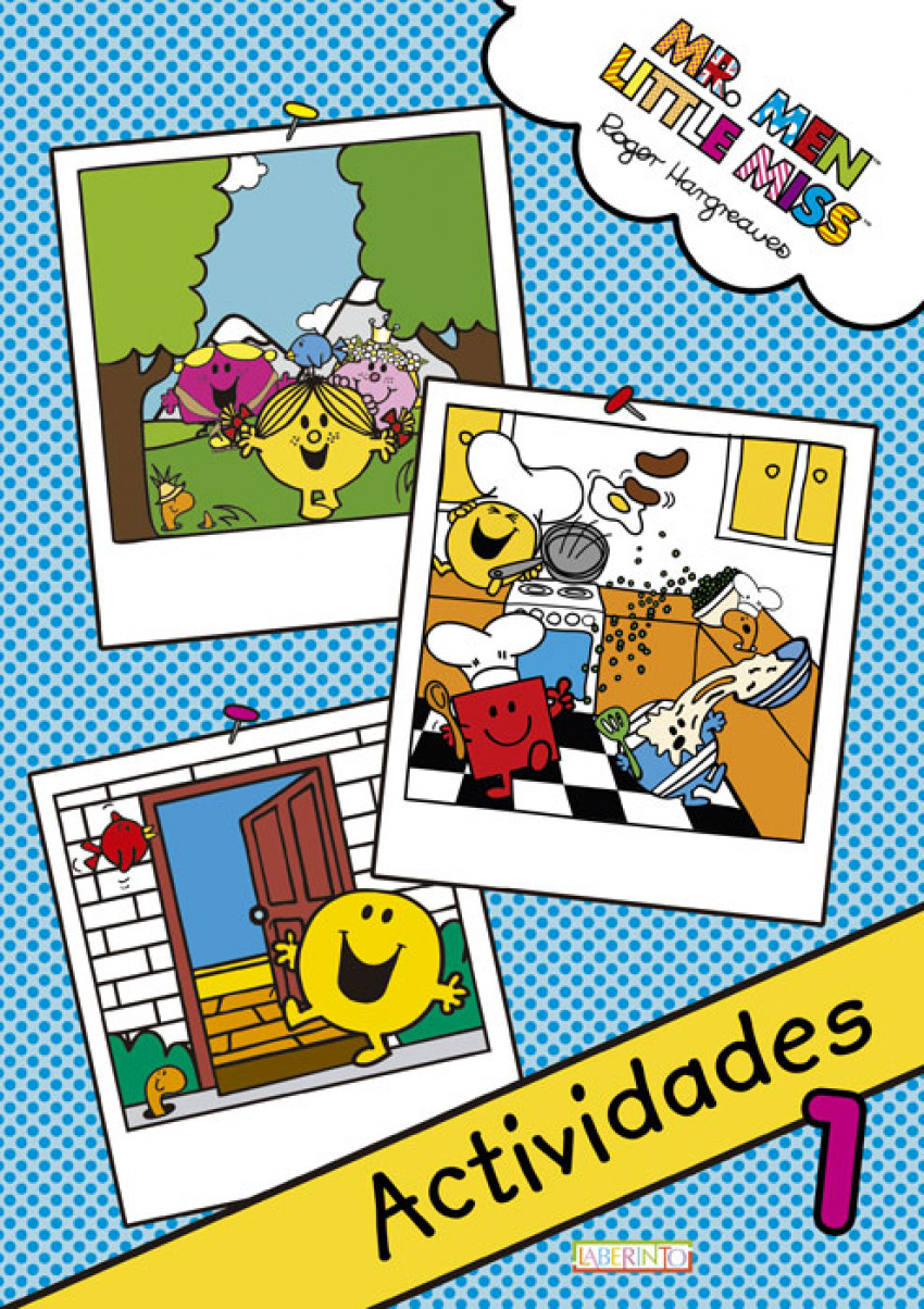 MR.MEN & LITTLE MISS ACTIVIDADES 1