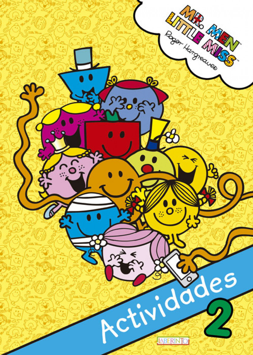 MR.MEN & LITTLE MISS ACTIVIDADES 2