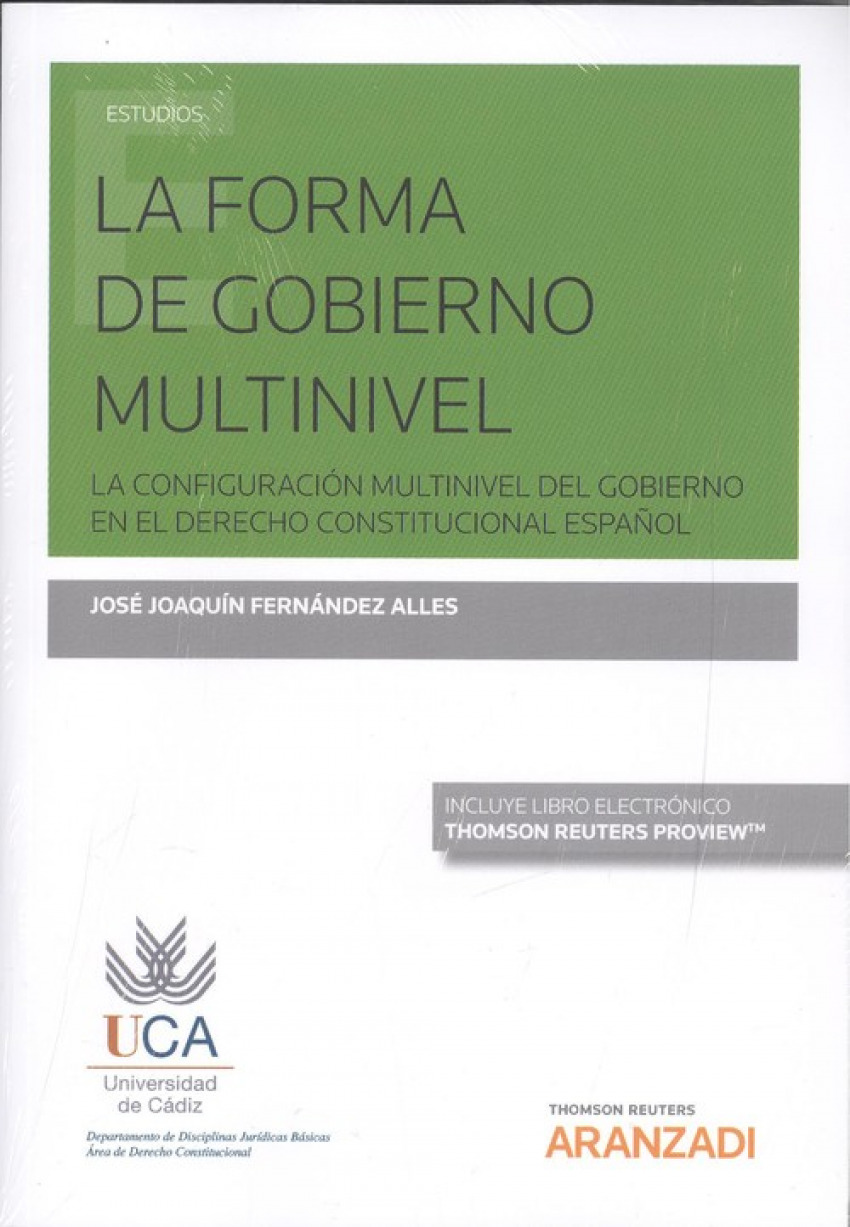 LA FORMA DE GOBIERNO MULTINIVEL (DUO)
