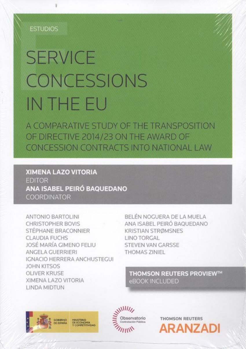 SERVICE CONCESSIONS IN THE EU (DÚO)