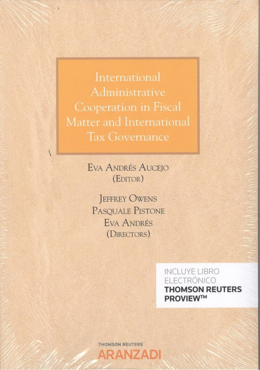 INTERNATIONAL ADMINISTRATIVE COOPERATION IN FISCAL MATTER AND INTERNATIONAL TAX GOVERNANCE