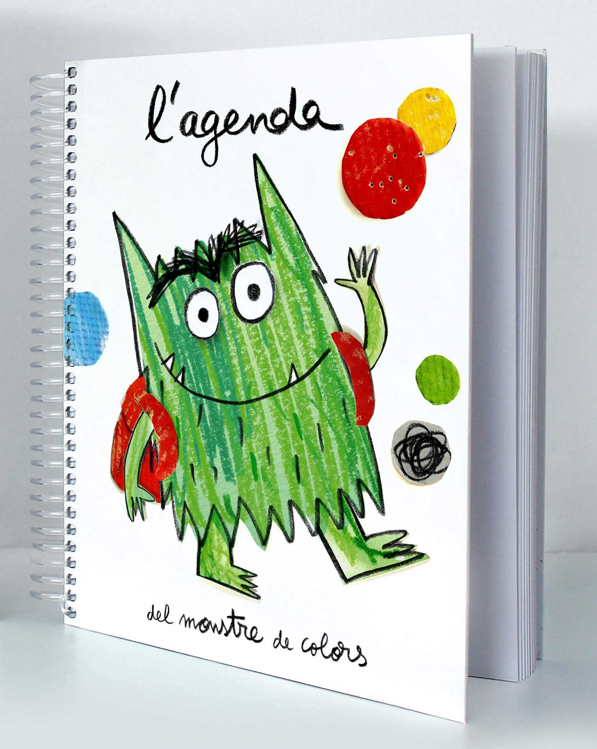L´AGENDA DEL MONSTRE DE COLOR