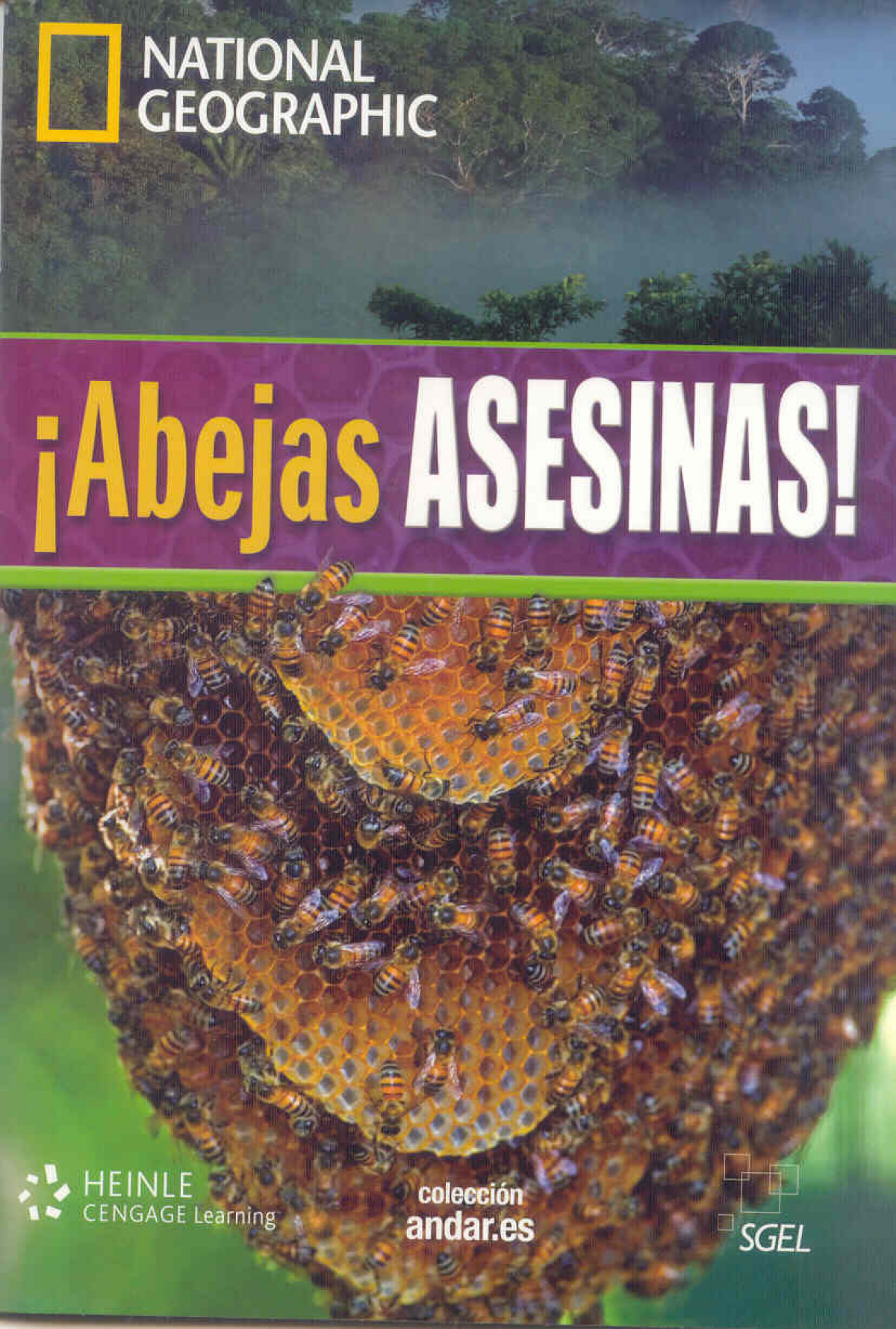 COLECCION NATIONAL GEOGRAPHIC: ABEJAS ASESINAS+DVD B1