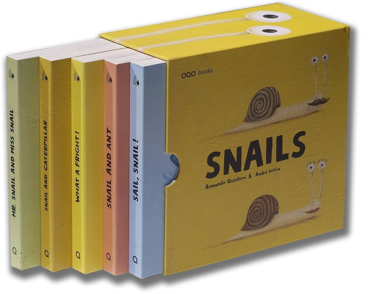 Snails (box with 5 titles)