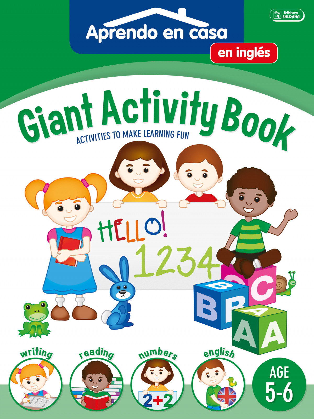 GIGANT ACTIVITY BOOK (AGE 5-6)
