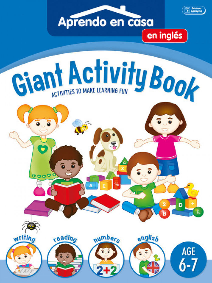 GIGANT ACTIVITY BOOK (AGE 6-7)