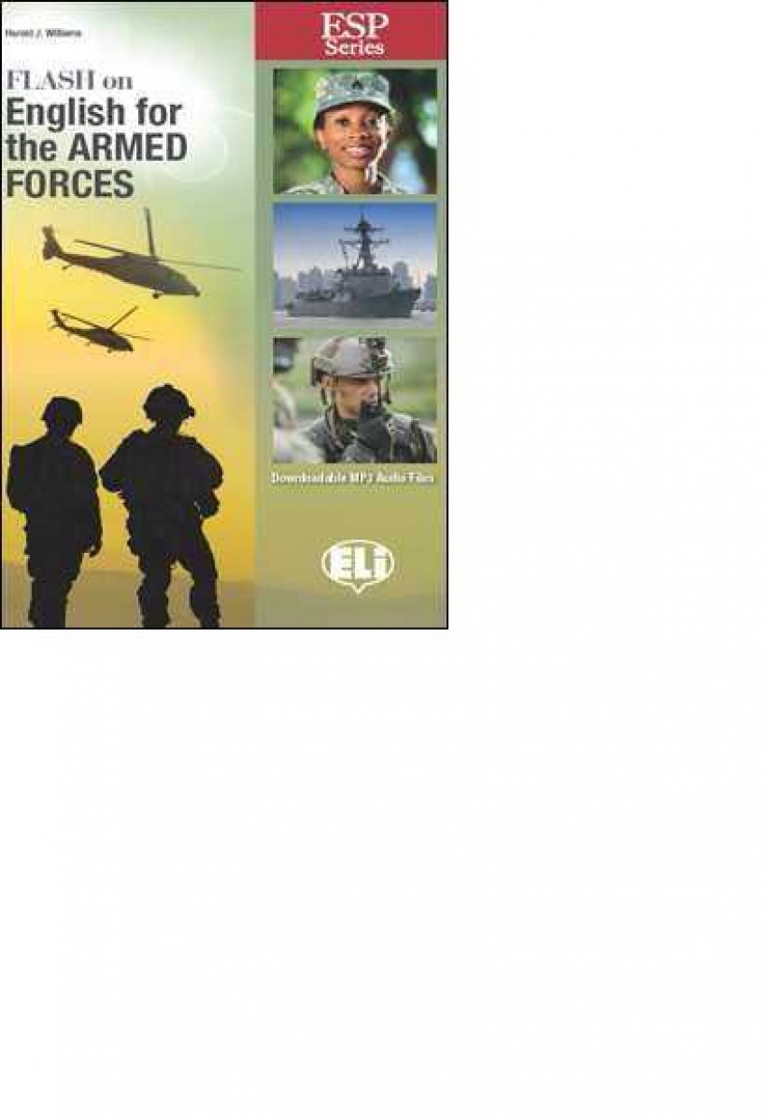 FLASH ON ENGLISH FOR THE ARMED FORCES (ESP SERIES)
