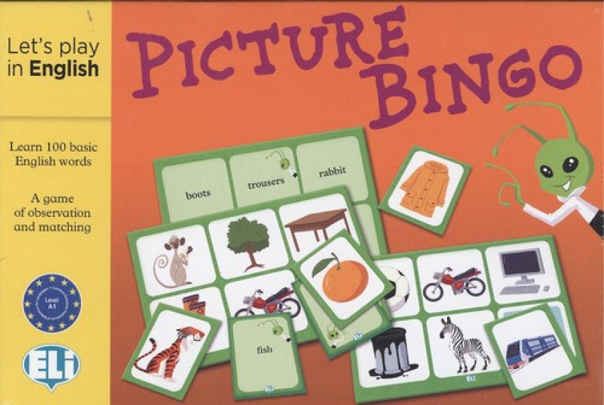 PICTURE BINGO.(LET'S PLAY IN ENGLISH)