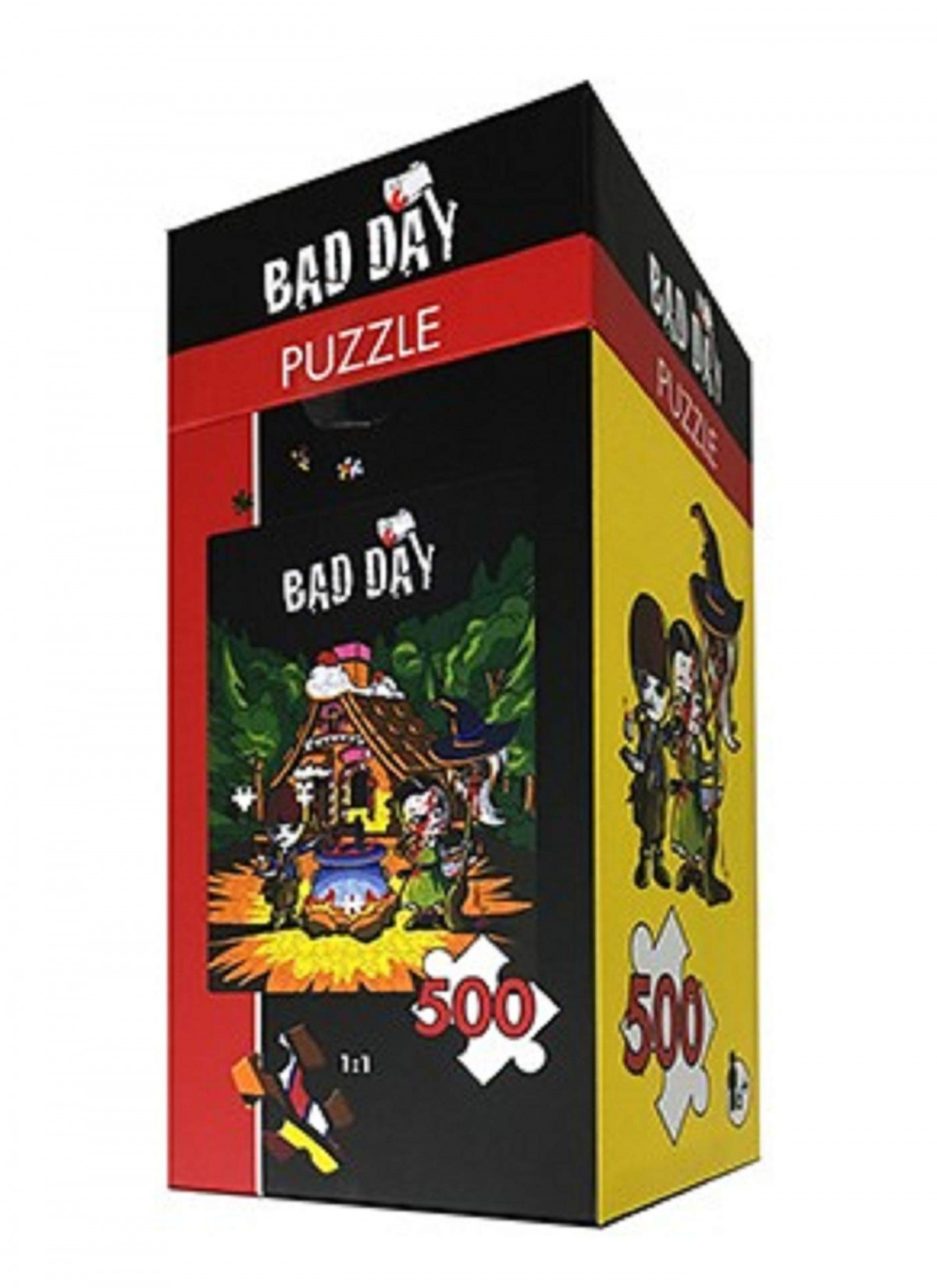 BAD DAY. PUZZLES