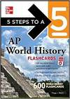 5 STEPS TO A 5 AP WORLD HISTORY FLASHCARDS FOR YOUR IPOD WITH MP3 CD