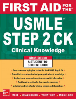 FIRST AID FOR THE USMLE STEP2 CK