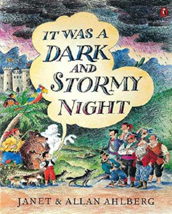It was a dark stormy night