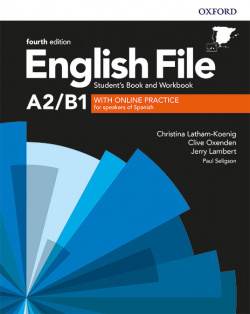 ENGLISH FILE PRE-INTERMEDIATE STUDENTS BOOK AND WORKBOOK KEY WITH ONLINE PRACTICE ACTIVITIES FOURTH EDITION