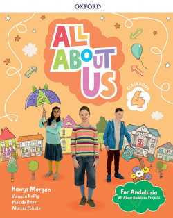 ALL ABOUT US 4 PRIMARY COURSEBOOK PACK ANDALUCIA